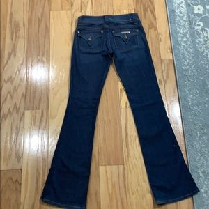 Hudson flare low rise jeans